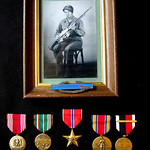 3 24 2014 Dad,  WWII medals  & Bronze Star, 1944-46 CIMG1237