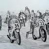 1-Cadwell Park, Start of 250cc Race, 10 Sep 1967, 14x17, graphite pencil, dec 9, 2014 CIMG9206tt