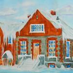 1-Trudeau Lab, 13 5x22, watercolor, july 19, 2016 DSCN0160 DSCN0160
