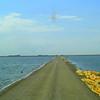 0049-North to Alaska - Mile-long, one-lane causway across Buffalo Pound, Buffalo Pound Prov  Park, Sask , may 26, 2015, 350pm CIMG0059 3639x2183 CIMG0059